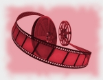 ScriptCut icon: film reels
